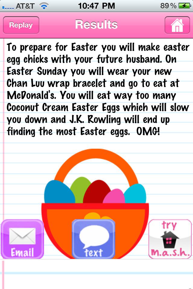 Screenshot M.A.S.H. Easter