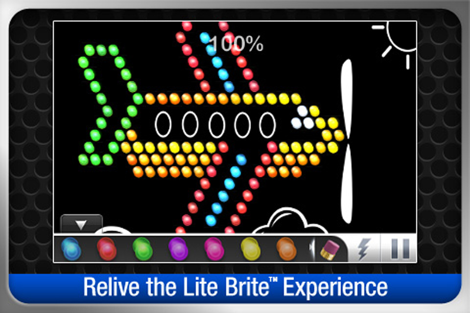 Screenshot LITE-BRITE