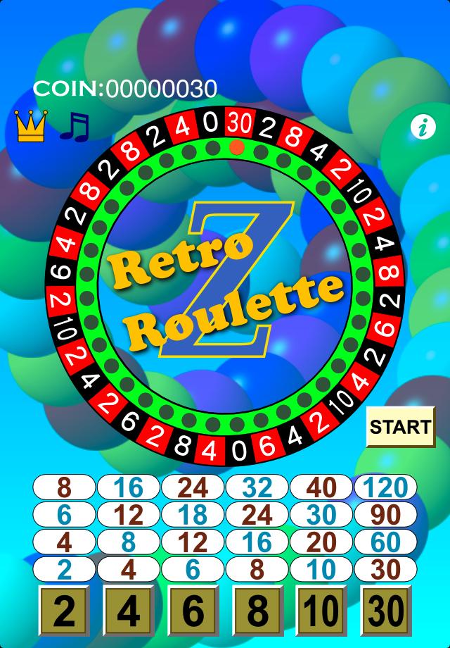 Screenshot RetroRoulette Z